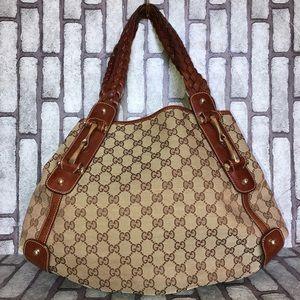 Gucci Pelham Medium Shoulder Bag GG Canvas